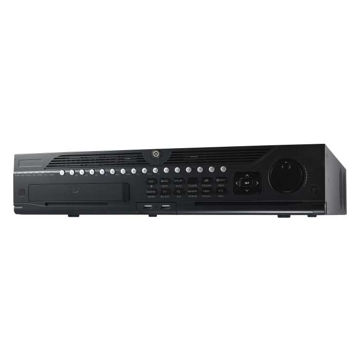 DS-9016HQHI-SH HIKVISION Tribrid DVR, 16 Channel TurboHD/Analog, Auto-Detect,, H.264, 1080p Real-time + 16 IP Camera upto 6MP, 8-SATA, HDMI, Alarm I/O, No Front Panel Control, No HDD