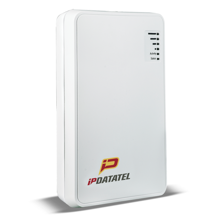 IPD-BAT-WIFI IPDATATEL Communicates all alarm events over the WiFi Internet network to any CS in full Contact ID. Allows for Full Featured Virtual Keypad as well as Simple Arm/Disarm keypad, transmits signals to any Central Station, and sends instant notifications for all alarm events