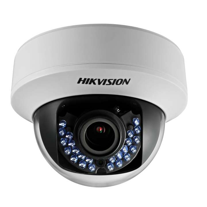 DS-2CE56D5T-AIRZ HIKVISION Indoor IR Dome, HD1080p, 2.8-12mm Motorized Zoom/Focus, 30m IR Day/Night, True WDR, Smart IR, UTC Menu, 24VAC/12VDC ************************* SPECIAL ORDER ITEM NO RETURNS OR SUBJECT TO RESTOCK FEE *************************