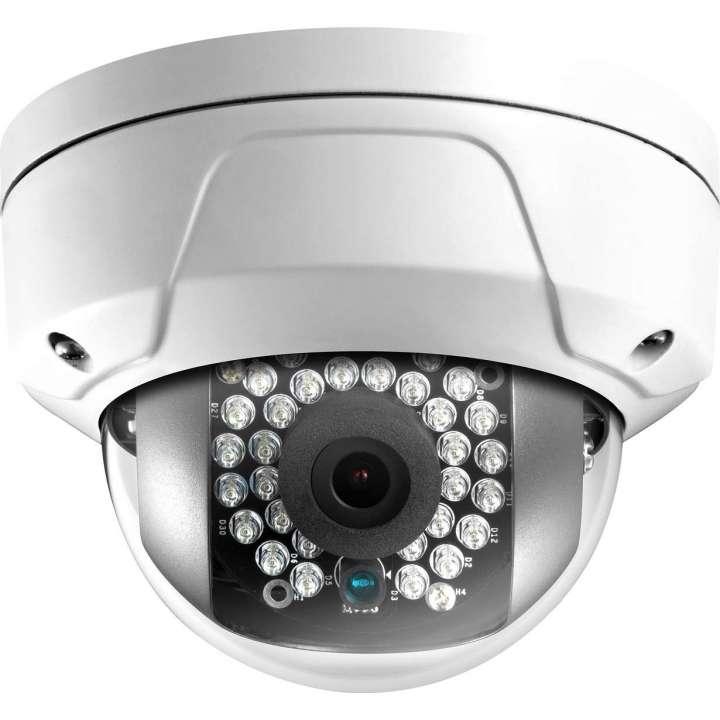 ULT-p3DRIR28 INVID 3 Megapixel IP Plug & Play Mini Rugged Dome, 2.8mm, 100' IR Range, PoE/DC12V
