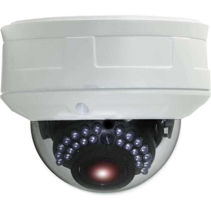 ULT-p3DRIR2812 INVID 3 Megapixel IP Plug & Play Rugged Dome, 2.8-12mm, 66' IR Range, PoE/DC12V, SD Card Slot
