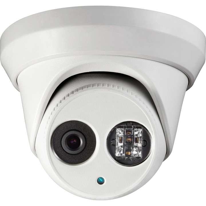 ULT-C2TXIR28 INVID 2 Megapixel/1080p TVI Outdoor Turret, 2.8 fixed, WDR, 100' EXIR Range, 12VDC