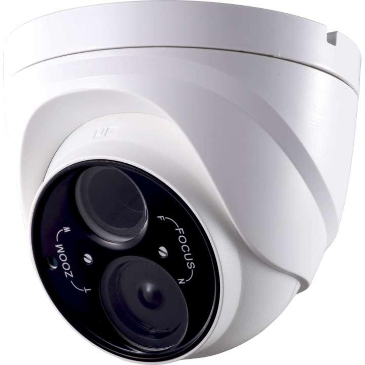 ULT-C2TXIR2812 INVID 2 Megapixel/1080p TVI Outdoor Turret, 2.8-12mm, WDR, 164? EXIR Range, 12VDC