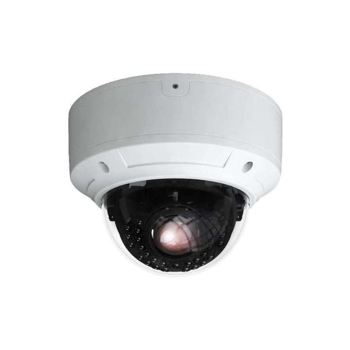 PAR-C2DRIR2812 INVID 2 Megapixel/1080p TVI Rugged Dome, 2.8-12mm, 98' IR Range, TVI/AHD/Analog Output, 12VDC