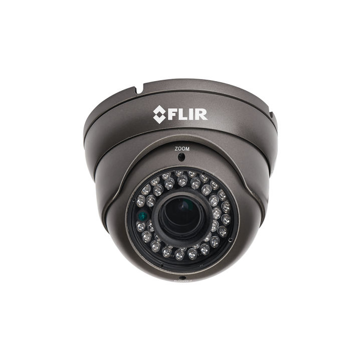 DBV534TL FLIR 900TVL 960H EXmor MP Eyeball Dome 3-Axis 2.8-12mm 110ft Smart IR IP66 12V