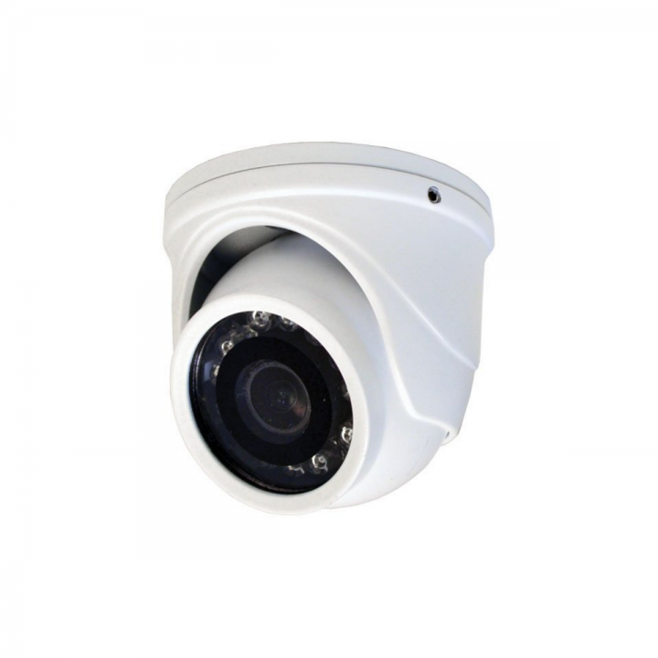 HT71TW SPECO MINI TVI TURRET CAMERA WHITE 12VDC IR'S HAS ANALOG OUTPUT