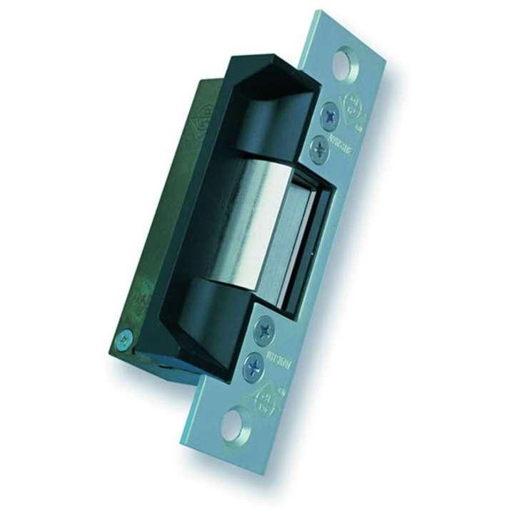 "7140-310-628-00 ADAMS RITE 12VDC/24VAC ELECTRIC DOOR RELEASE FAIL SAFE-FAIL SECURE BRUSHED ALUMINUM FOR STEEL SINGLE DOOR 4 7/8"" ANSI CUTOUT"