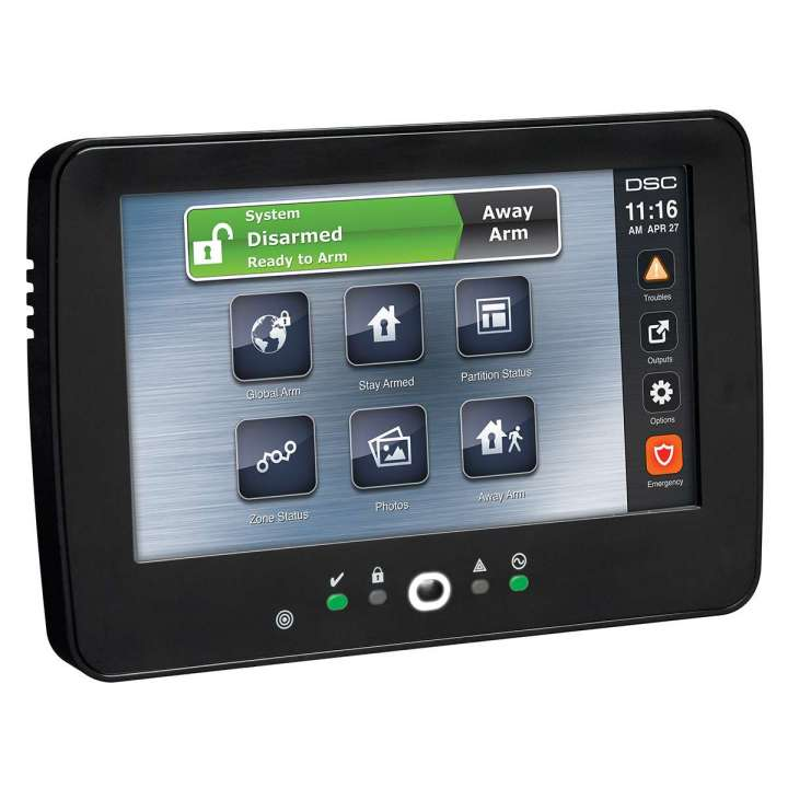 "DSCHS2TCHPBLK DSC POWERSERIES NEO 7"" TOUCHSCREEN W/ PROXIMITY SUPPORT. BLACK ENCLOSURE."