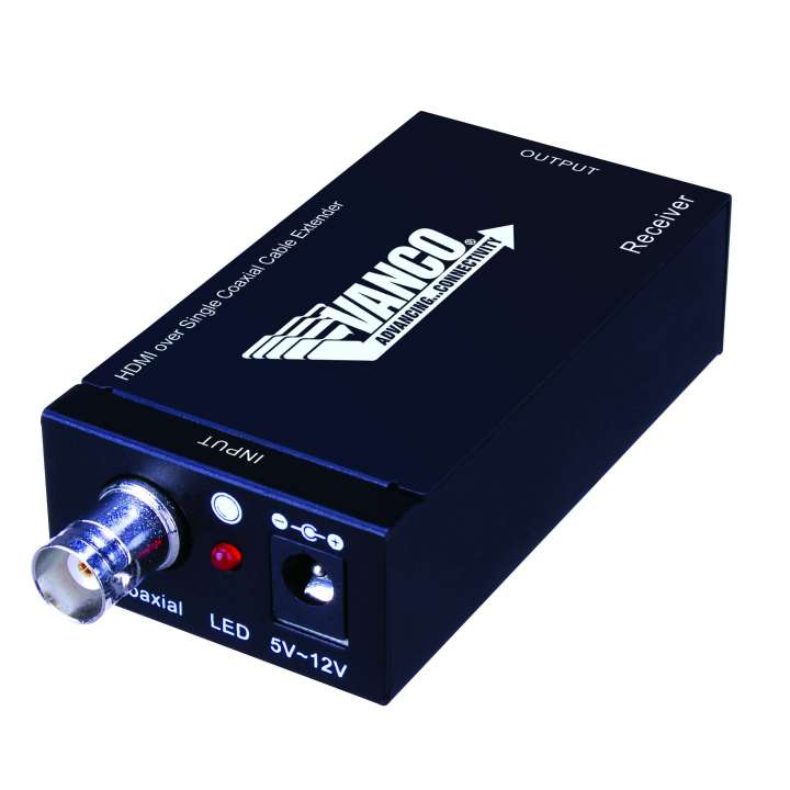 280567 VANCO HDMI OVER SINGLE COAX EXTENDER ************************* SPECIAL ORDER ITEM NO RETURNS OR SUBJECT TO RESTOCK FEE *************************