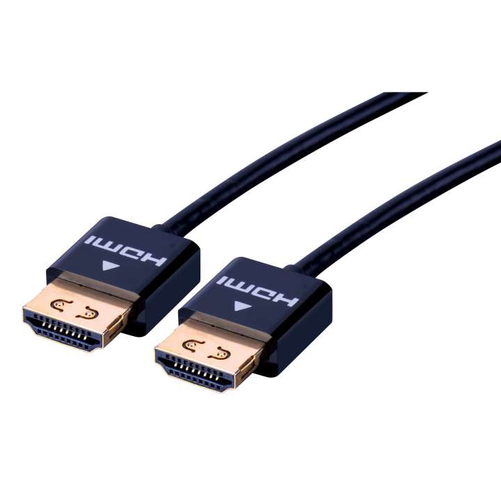 SFHD02 VANCO CABLE SECURE FIT ULTRA SLIM HDMI W/ETHERNET 3FT ************************* SPECIAL ORDER ITEM NO RETURNS OR SUBJECT TO RESTOCK FEE *************************