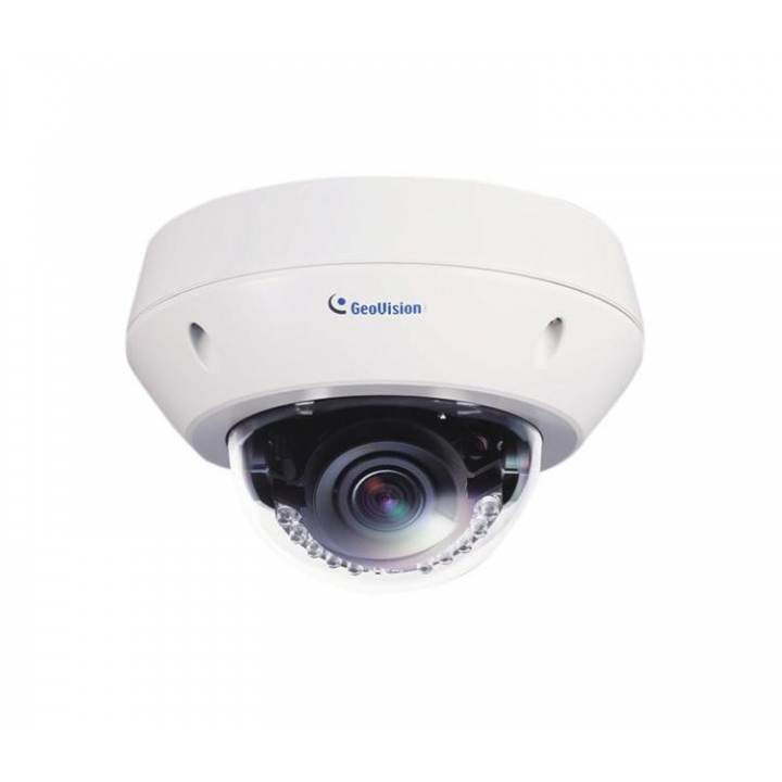 120-EVD3100-000 GEOVISION MODEL # GV-EVD3100 3MP H.264 SUPER LOW LUX WDR IR VANDAL PROOF IP DOME 3-9MM VF
