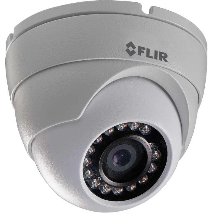 N133ED FLIR Mini Eyeball Dome, 2.1MP, 1080P@30fps, 3.6mm, IR LED's, POE / 12V, ONVIF, dual streaming