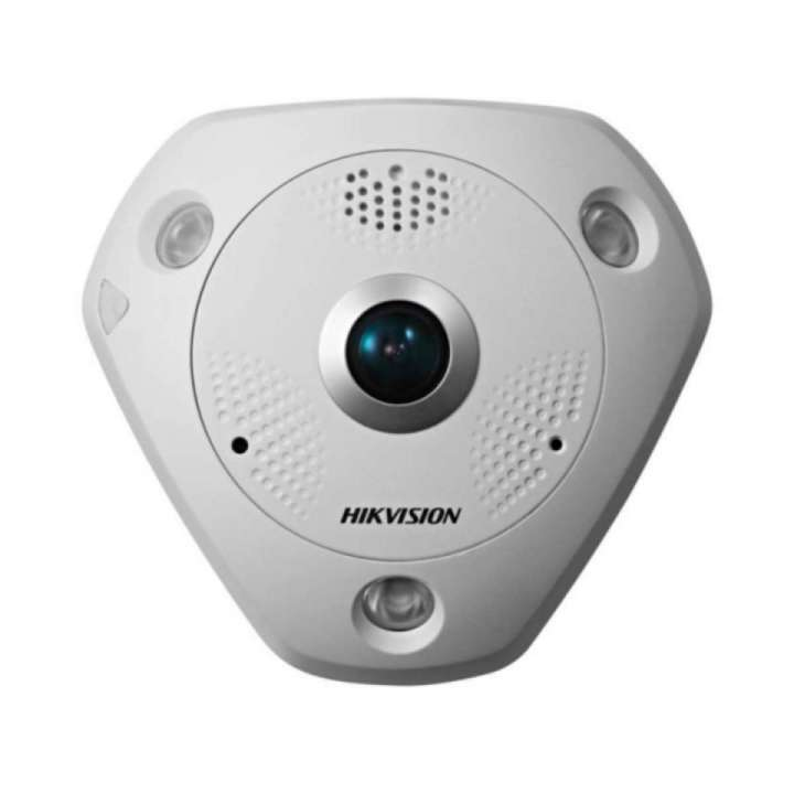 DS-2CD6362F-IV HIKVISION Panaramic 180/360 degree, Outdoor, 6MP, Day/Night, IR, PoE/12VDC