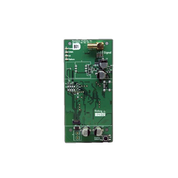 RE928RSV RESOLUTION COMMUNICATOR CARD, CDMA VERIZON FOR HELIX