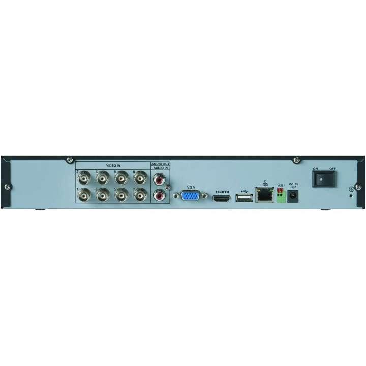 M3108E2 FLIR MPX HD recorder 8ch, 720p 30fps, 1080p 15fps, 960H 30fps, 2TB FLIR cloud VMS