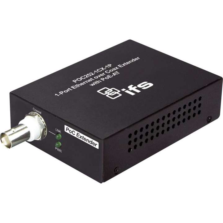 POC252-1CX-1P INTERLOGIX IP POWER OVER COAX (CAMERA END) MEDIA CONVERTOR WITH 1 PORT TP POT-AT ************************* SPECIAL ORDER ITEM NO RETURNS OR SUBJECT TO RESTOCK FEE *************************