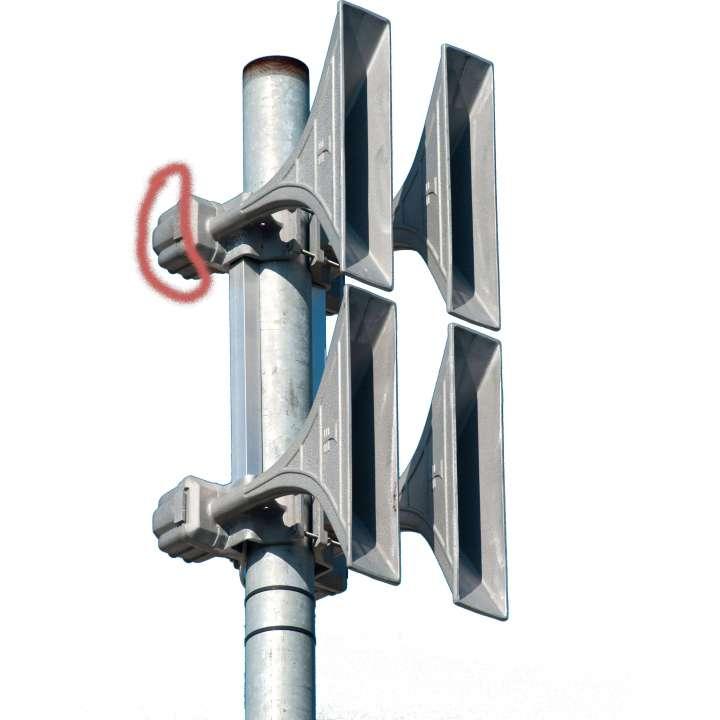 WHHPSA-7104-R WHEELOCK HIGH POWERED SPKR ARRAY, Wired, 4 HORNS, Regulatory