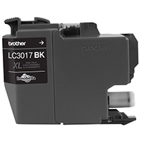 BRT-LC3017BK BROTHER HIGH YIELD BLACK INK CARTRIDGE FOR MFC-J5330DW /MFC-J6530DW/MFC-J6930DW
