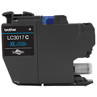 BRT-LC3017C BROTHER HIGH YIELD CYAN INK CARTRIDGE FOR MFC-J5330DW /MFC-J6530DW/MFC-J6930DW