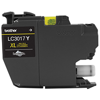 BRT-LC3017Y BROTHER HIGH YIELD YELLOW INK CARTRIDGE FOR MFC-J5330 DW/MFC-J6530DW/MFC-J6930DW