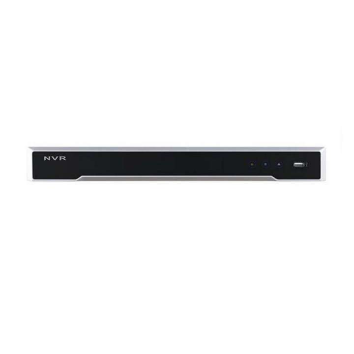 DS-7616NI-I2/16P-2TB HIKVISION NVR, 16-Channel, H264+/H264/H265, up to 12MP, Integrated 16-port PoE, HDMI, 2-SATA, with 2TB