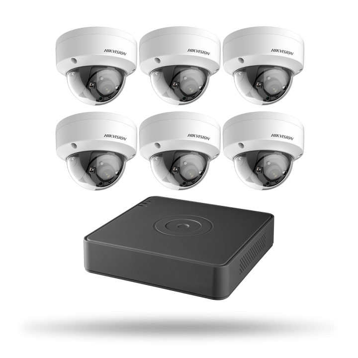 T7108Q2TB HIKVISION KIT DVR 8CH 2TB 6 DOM 2MP 2.8M ************************* SPECIAL ORDER ITEM NO RETURNS OR SUBJECT TO RESTOCK FEE *************************