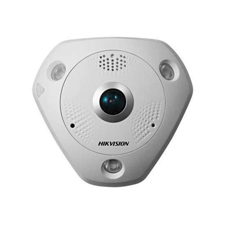 DS-2CD63C2F-IV HIKVISION Panaramic 180/360 degree, Outoor, 12MP, Day/Night, IR, PoE/12VDC