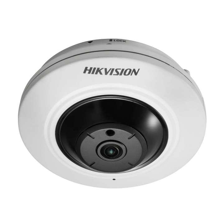 DS-2CD2942F-IS HIKVISION Fisheye, 4MP, H264, 1.17mm, Day/Night, IR (30m), Alarm I/O, Audio I/O, IP66, PoE/12VDC