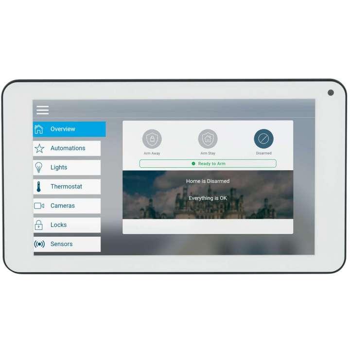 "UX-TOUCH-01 INTERLOGIX UltraSync Secondary Touchscreen - 7"", 4 Per Hub, Wall Mount"