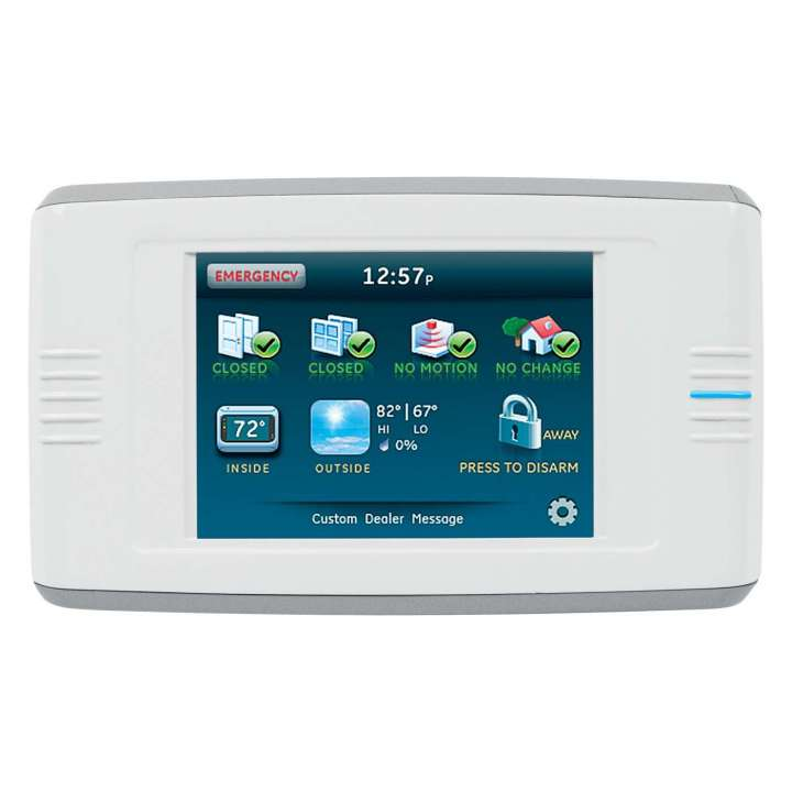60-924-RF-TS UTC SIMON XT TALKING TOUCH SCREEN WHITE W/PS ************************* SPECIAL ORDER ITEM NO RETURNS OR SUBJECT TO RESTOCK FEE *************************