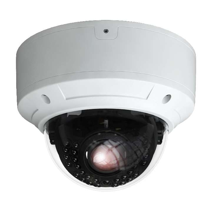 PAR-VARIDOME INVID PARAMOUNT 2MP TVI 2.8MM-12 VARI IR DOME 20-30 METERS IR DISTANCE