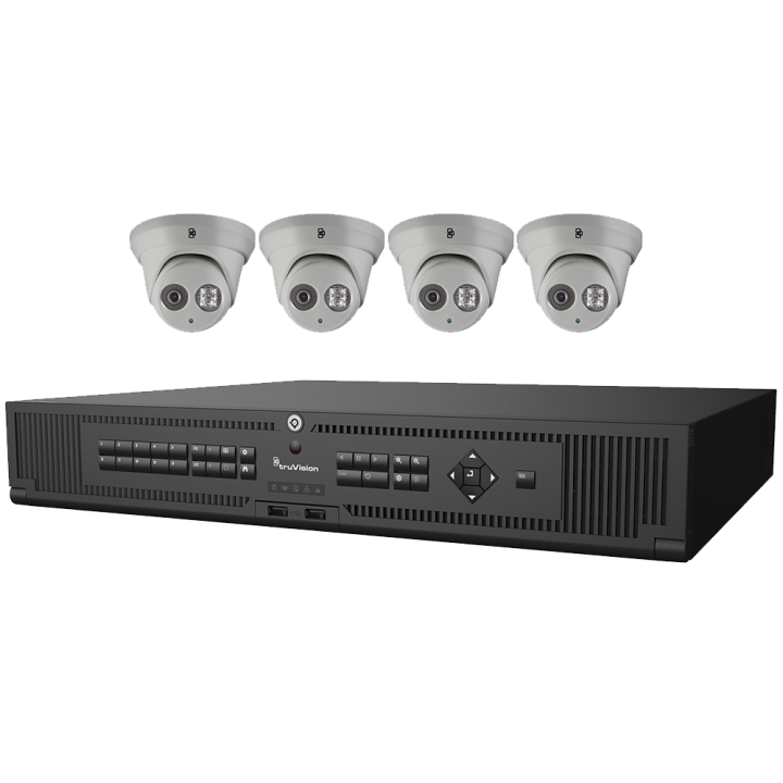 PROMOILXTRUVISIONBUNDLE2 INTERLOGIX TRUVISION BUNDLE TO INCLUDE (1)TVN-2216S-4T AND (4)TVT-5304 Cameras for FREE PROMO DATES May 1, 2017 through June 30, 2017