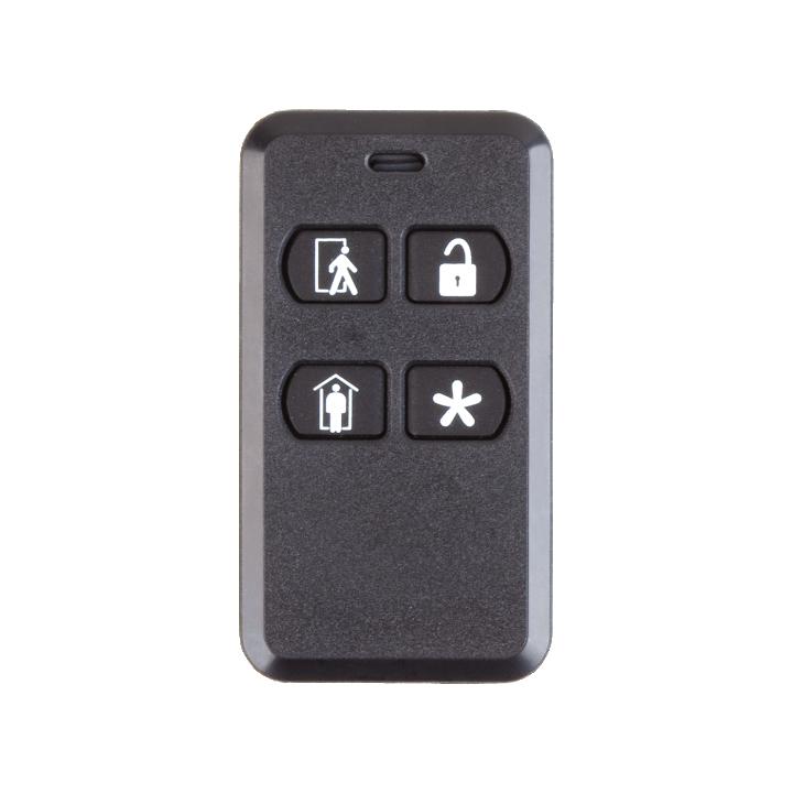 2GIG-KEY2-345 2GIG 4-Button Key Ring Remote