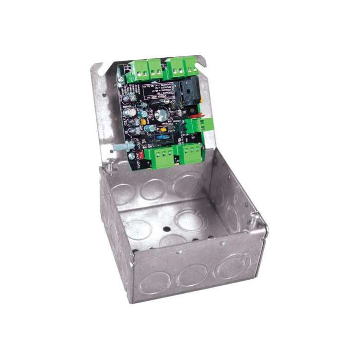 AMP1SGB OWI 40 Watt Amplifier (single source/input) in a UL Listed Double Gang Box. 15 Volt DC Level 5 UL Listed power supply included. Best for surface mounted speakers, In-ceiling and In-wall speakers, sold as each ************************* SPECIAL ORDER ITEM NO RETURNS OR SUBJECT TO RESTOCK FEE *************************