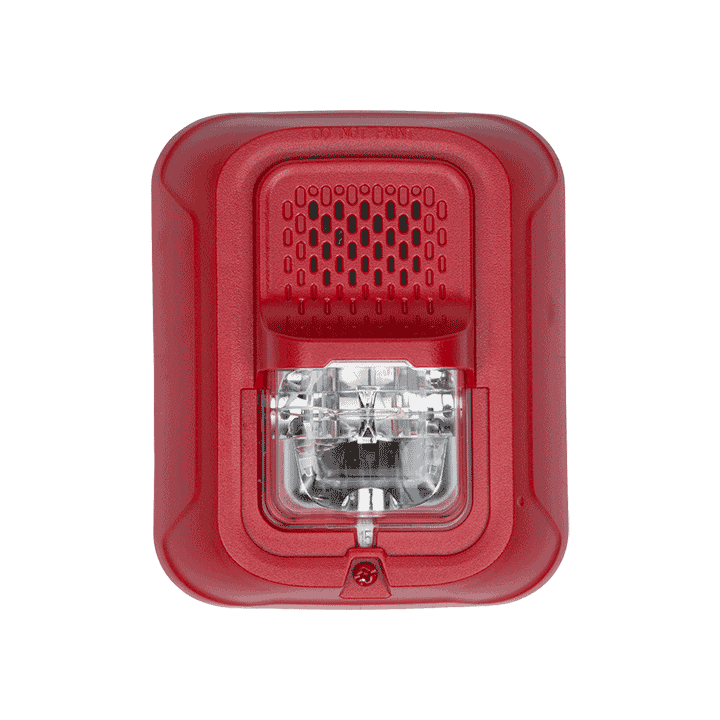 P2RL-P SYSTEM SENSOR HORN STROBE 2W RED WALL, PLAIN ************************* SPECIAL ORDER ITEM NO RETURNS OR SUBJECT TO RESTOCK FEE *************************