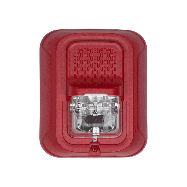 SRL-P SYSTEM SENSOR STROBE RED WALL, PLAIN ************************* SPECIAL ORDER ITEM NO RETURNS OR SUBJECT TO RESTOCK FEE *************************