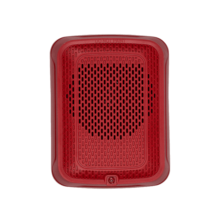 SPRL SYSTEM SENSOR SPEAKER RED WALL ************************* SPECIAL ORDER ITEM NO RETURNS OR SUBJECT TO RESTOCK FEE *************************