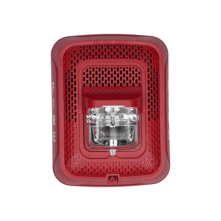 SPSRL SYSTEM SENSOR SPEAKER STROBE RED WALL ************************* SPECIAL ORDER ITEM NO RETURNS OR SUBJECT TO RESTOCK FEE *************************