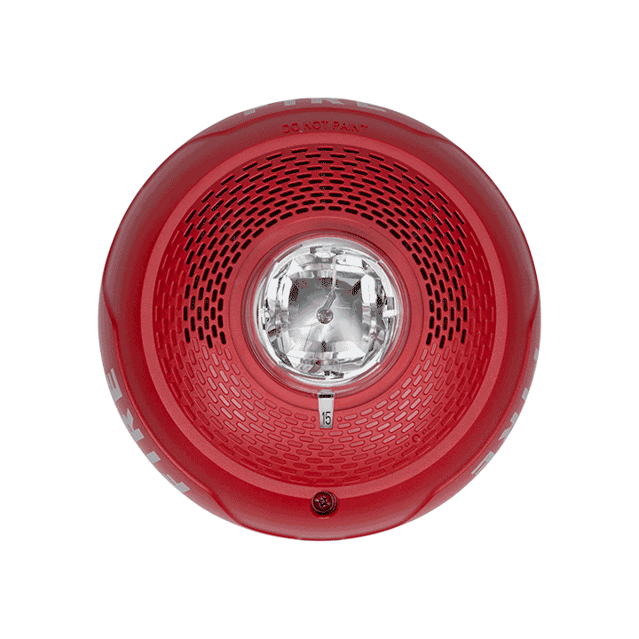 SPSCRL SYSTEM SENSOR SPEAKER STROBE RED CEILING ************************* SPECIAL ORDER ITEM NO RETURNS OR SUBJECT TO RESTOCK FEE *************************