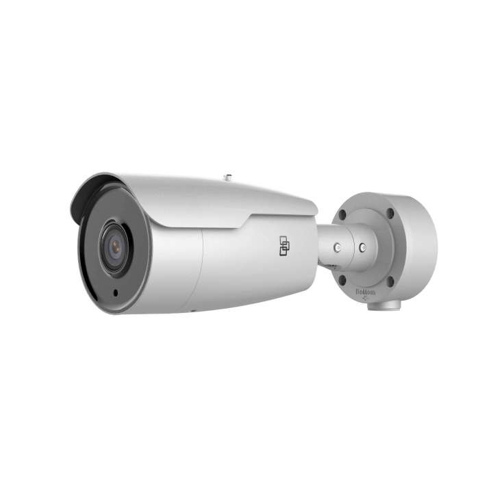 TVB-5401 INTERLOGIX TRUVISION IP BULLET CAMERA, H.265/H.264, 2.0MPX 2.8-12MM MOTORIZED LENS, SUPER LOW LIGHT, WDR, TRUE D/N, 50M IR, AUDIO, ALARM, BNC, MICRO SD/SHDC SLOT, INTELLIGENCE, POE (802.3-AF) /12VDC, HEATER, IP66