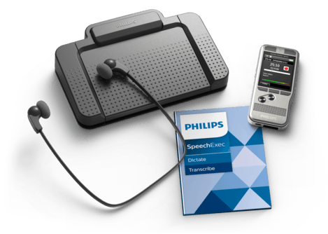 PSP-DPM6700/02 PHILIPS DPM6700 RECORDER & TRANSCRIPTION SET WITH SPEECHEXEC SOFTWARE WORKS WITH ACC2330 FOOT PEDAL