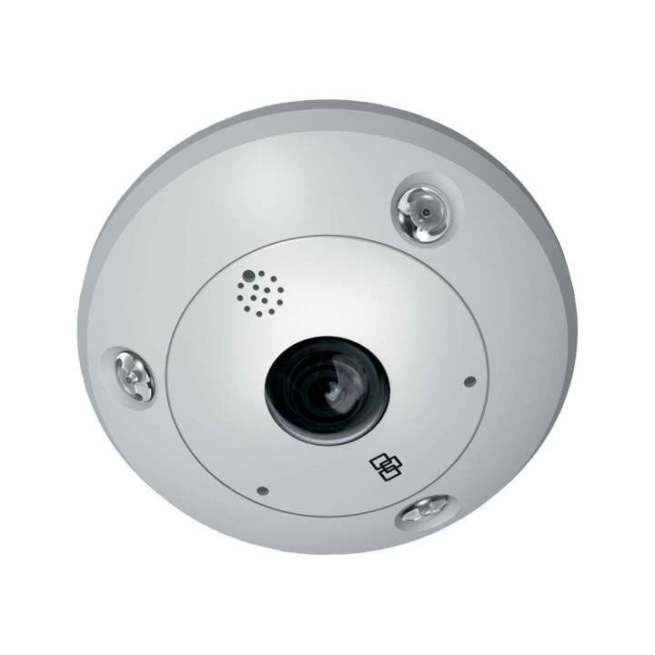 TVF-3103 UTC TruVision 360 Degree IP Dome, 6.0MP, DWDR, 1.27mm fisheye lens, true D/N,10m IR, 2 way audio (built-in mic & speaker), SD/SHDC slot, POE (803.af)/12VDC ************************* SPECIAL ORDER ITEM NO RETURNS OR SUBJECT TO RESTOCK FEE *************************