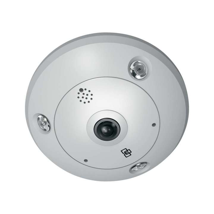 TVF-3101 UTC TruVision 360 Degree IP Dome, 3.0MPX, WDR, 1.19mm fisheye lens, true D/N, 10m IR, 2 way audio (built-in mic & speaker), SD/SHDC slot, POE (803.af)/12VDC ************************* SPECIAL ORDER ITEM NO RETURNS OR SUBJECT TO RESTOCK FEE *************************