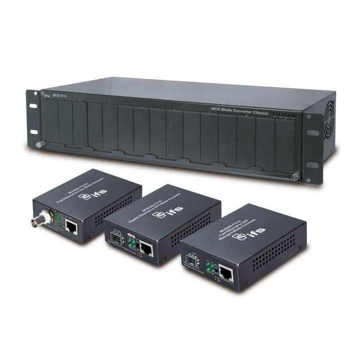 MCR-R15 UTC RACK FOR MEDIA CONVERTERS - 15 OPEN SLOTS INCLUDES POWER SUPPLY ************************* SPECIAL ORDER ITEM NO RETURNS OR SUBJECT TO RESTOCK FEE *************************