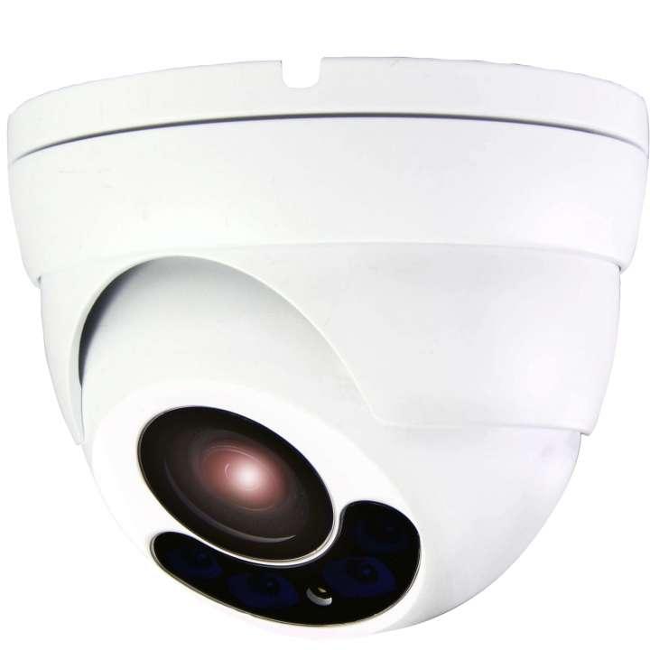 ULT-C2TXIRA2808 INVID 2 Megapixel/1080p TVI Turret Motorized Auto-Focus 2.8-8mm, 164' EXIR Range, 12VDC, WHITE
