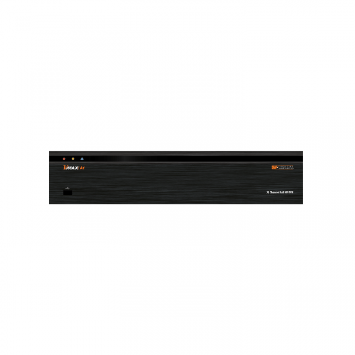 DW-VAONE324T DIGITAL WATCHDOG VMAX A1 Universal High Definition 1080P via Coax, Records all HD Formats and All Analog to 960H, H.264, 32ch, 4 terabyte, 480fps@1080P and 480fps@720P, 960H and below, Supports up to 5MP cameras, 8ch Audio in, 1ch audio output, 4K HDMI and VGA monitor out, 16 sensor input, 2 relay output, UTC, Spot Monitor Output, Free Pivot CMS Software up to 128 Devices, Free Mobile for IPhone, IPad, Android Smart Phones and Tablets, MAC Compatible, USB Backup, Free DDNS, Watermark Images, Help Menu, Email and Text Event Notification with Snapshot, PTZ Control, Quick Setup Wizard, 5 Year Limited Warranty. ************************* SPECIAL ORDER ITEM NO RETURNS OR SUBJECT TO RESTOCK FEE *************************