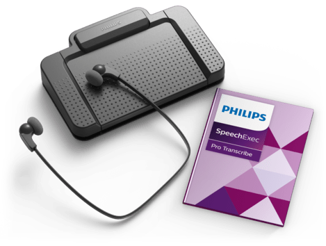 PSP-PSE7277/00 PHILIPS SPEECHEXEC PRO TRANSCRIPTION SET WITH SPEECHEXEC PRO 10 TRANSCRIBE WITH SPEECH RECOGNITION, INCLUDES LFH033 4 & ACC2330