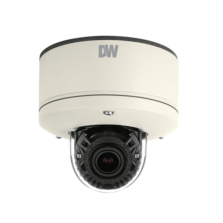 DWC-MV44WiA DIGITAL WATCHDOG Megapixel Vandal Dome, ONVIF Compliant, 4 Megapixels (2560x1440, 30fps), 2.8-12mm Autofocus Varifocal P-Iris, 100ft Smart IR, Lens, Dual Codecs (H.264, MJPEG) with Dual Stream, 1/3 CMOS Sensor, , 4.2X Optical Zoom, True Day and Night, Power over Ethernet [PoE] & DC12V, Two-Way Audio, Local SDHC Card Remote Backup, E-mail Event Notifications, IP68 Certified, Junction Box Built-in, Web Server Built-in, WDR (Wide Dynamic Range), 3D-DNR (3D Digital Noise Reduction), Programmable Privacy Zones (4) & Motion Detection. 5 Year Warranty ************************* SPECIAL ORDER ITEM NO RETURNS OR SUBJECT TO RESTOCK FEE *************************