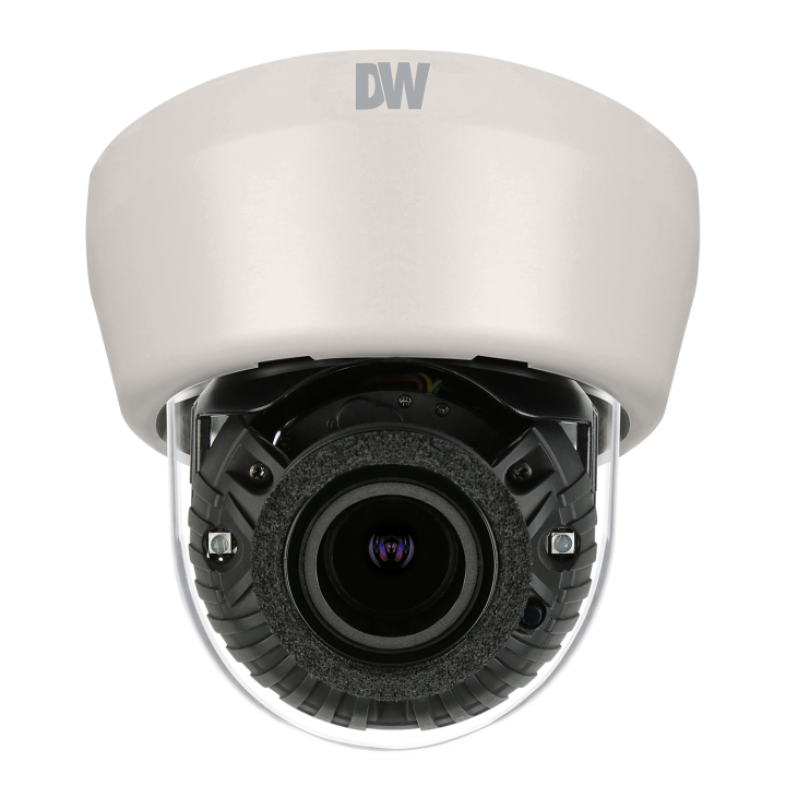 DWC-MD44WiA DIGITAL WATCHDOG Interior Dome, ONVIF Compliant, 4 Megapixel (2560x1440 @ 30fps), Dual Codecs with Dual Stream, 1/3 CMOS Sensor, 2.8~12mm P-Iris Auto Focus Lens, 100ft Smart IR, 8X Digital Zoom, 4.2X Optical Zoom, True Day and Night, Power over Ethernet [PoE] & DC12V, Two-Way Audio, Local SDHC Card Remote Backup, E-mail Event Notifications, Web Server Built-in, WDR (Wide Dynamic Range), 3D-DNR (3D Digital Noise Reduction), Programmable Privacy Zones (4) & Motion Detection . 5 Year Warranty ************************* SPECIAL ORDER ITEM NO RETURNS OR SUBJECT TO RESTOCK FEE *************************
