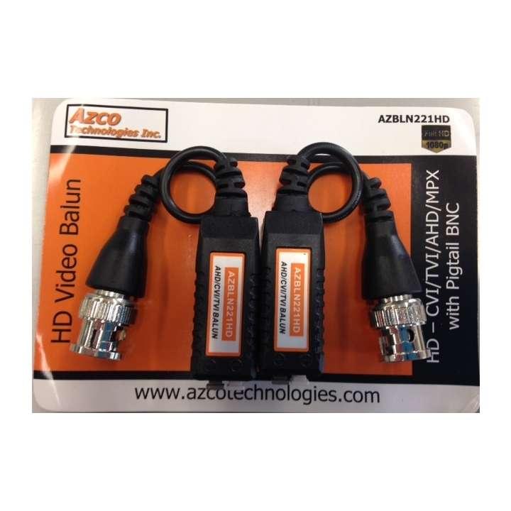 AZBLN221HD AZCO HD BALUN 650FT 1080P 1000 FT 720P DISTANCE EST